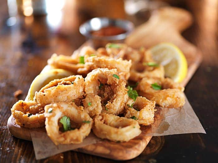 recetas con calamares caseras