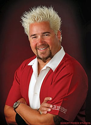 Book or Hire celebrity chef Guy Fieri