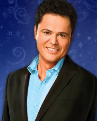 Donny Osmond booking hiring agent