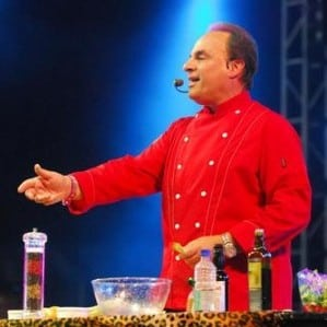 Book or hire Singing Chef Andy LoRusso