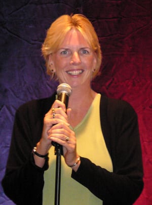 Book or Hire comic speaker Jan McInnis