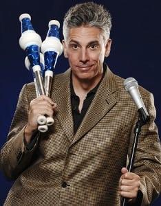 Book or hire standup juggler Tyler Linkin