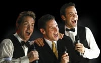 Agent and agency for booking or hiring The Three Waiters comedy singing show