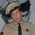 Agent and agency for booking and hiring Barney Fife Impersonator Rik Roberts