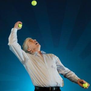 Chris Bliss juggler Hiring Agency