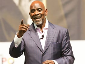 Chris Gardner motivational speaker agent