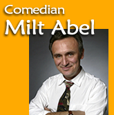 Best Booking Agency and Agent for hiring standup comedian Milt Abel