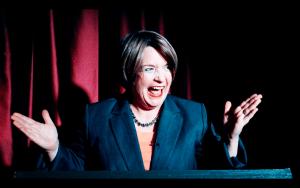 Leslie Sharp Hillary Clinton Impersonator