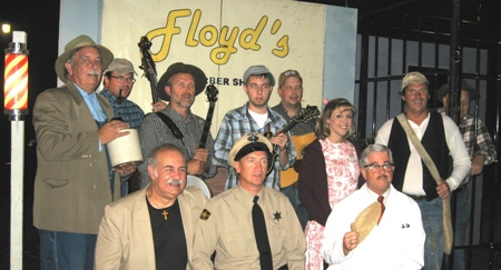 Agent and agency for booking and hiring the Mayberry Tribute Show and Sammy Sawyer