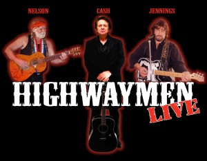 Booking Agent for The Highwaymen - Country Musicians and Tribute Band to Willie, Waylon and Johnny
