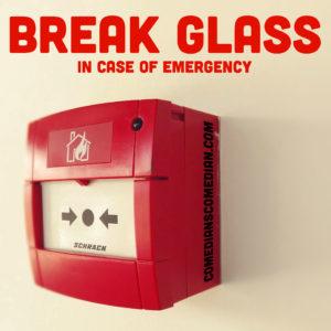Break Glass NEW cover art CCP