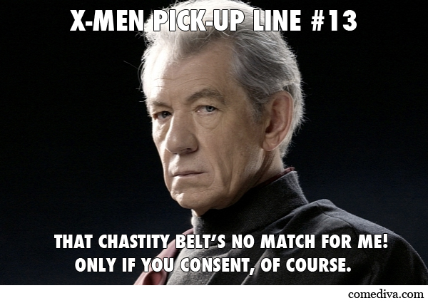 X Men Pick Up Lines Comediva