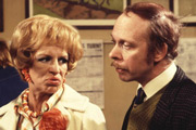 George & Mildred. Image shows from L to R: Mildred Roper 