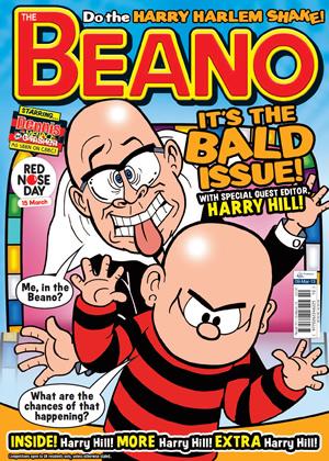 Harry Hill edits the Beano  British Comedy Guide