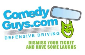 Comedy Guys Defensive Driving Logo