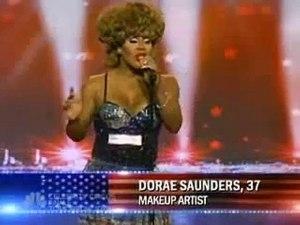 Dorae Saunders on America's Got Talent