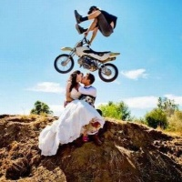Dirt Bike Wedding