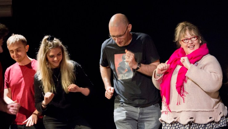 Learn improv skills in Manchester