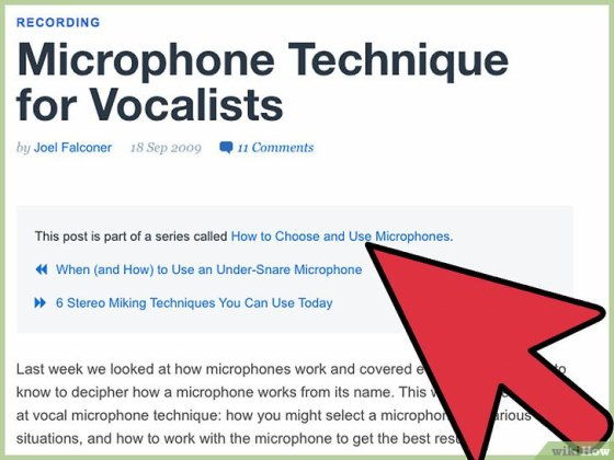 Immagine titolata Improve Your Voice for Podcasts and Recordings Step 1