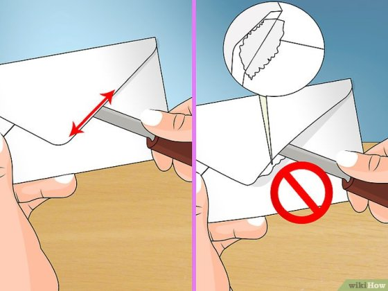 Immagine titolata Open a Sealed Envelope Step 4
