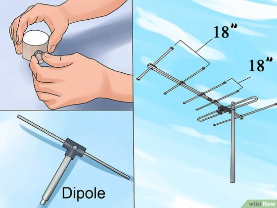 Immagine titolata Build Several Easy Antennas for Amateur Radio Step 19