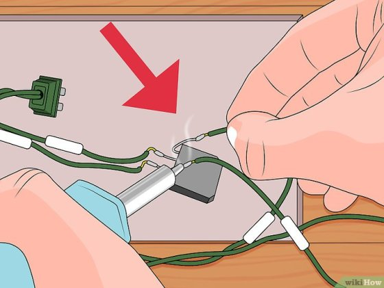 "Immagine titolata Remove the ""Twinkle"" Feature from Christmas Lights Step 20"