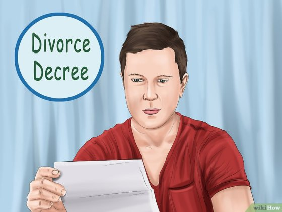 Immagine titolata File Divorce Papers Without an Attorney Step 17