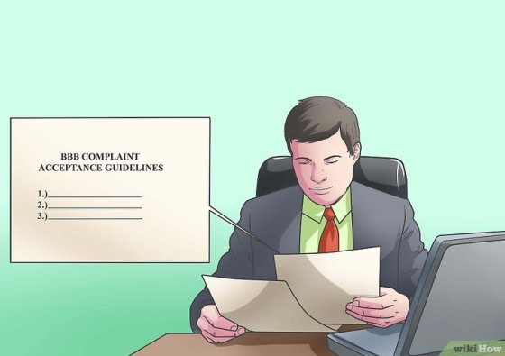 Immagine titolata File a Complaint With the Better Business Bureau Online Step 1