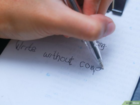 Immagine titolata Learn to Write With Your Left Hand Step 6