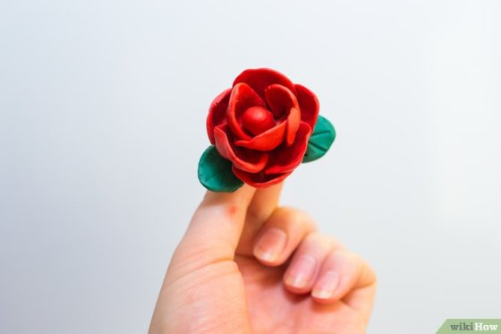 Immagine titolata Make Roses out of Fondant Step 14
