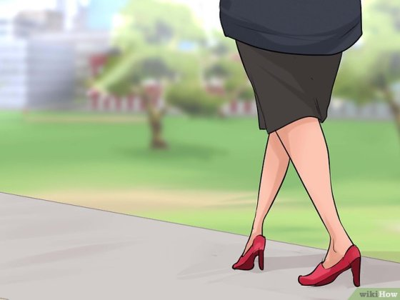 Immagine titolata Train Your 'V Shaped' Walking Style to a Straight Style Step 4