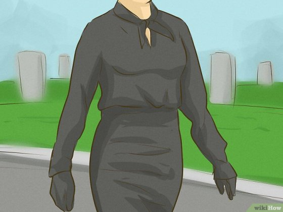 Immagine titolata Dress For a Funeral Step 4