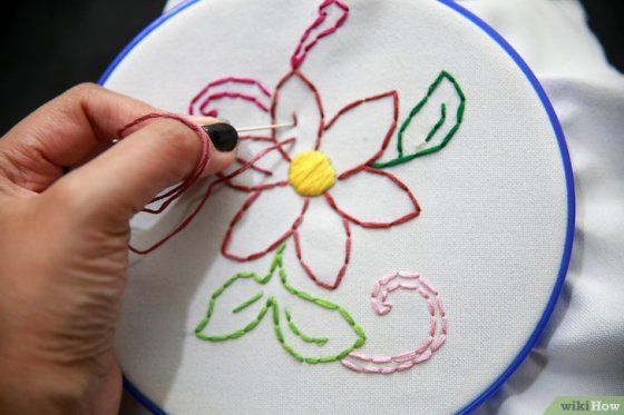Immagine titolata Embroider by Hand Step 17