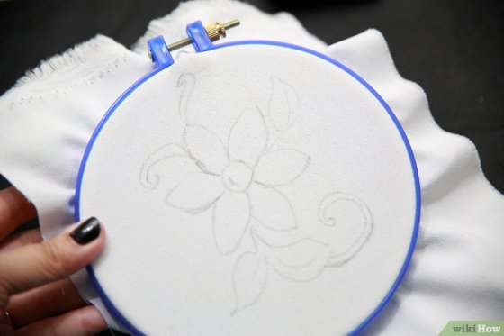Immagine titolata Embroider by Hand Step 8