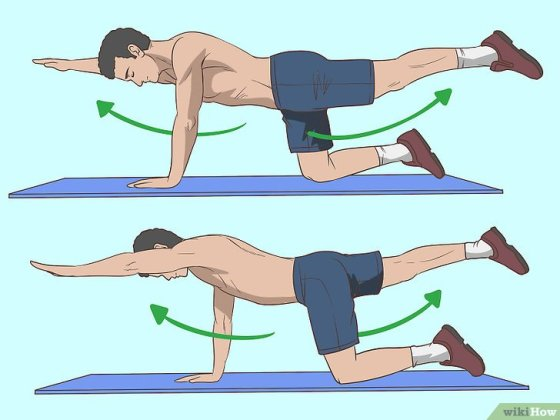 Immagine titolata Strengthen Your Lower Back Step 4