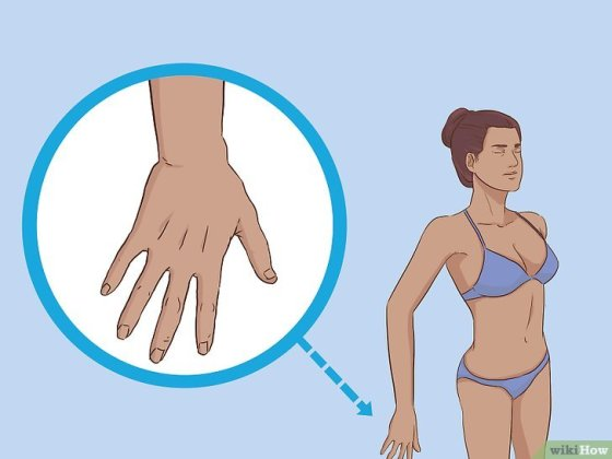 Immagine titolata Stand in a Spray Tan Booth Step 10