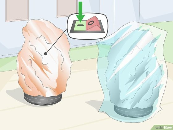 Immagine titolata Stop a Salt Crystal Lamp from Melting Step 6