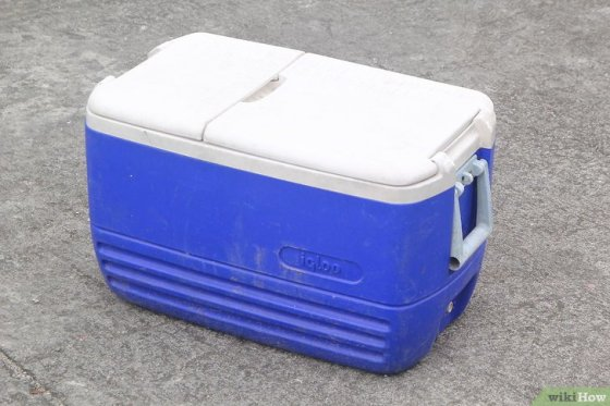 Immagine titolata Keep Ice Cream from Melting in a Cooler Step 1