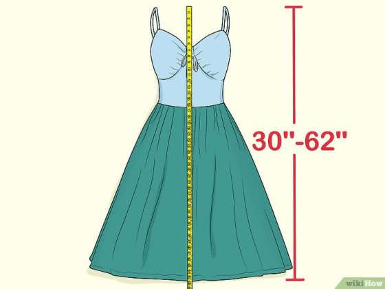 Immagine titolata Measure Dress Length Step 3