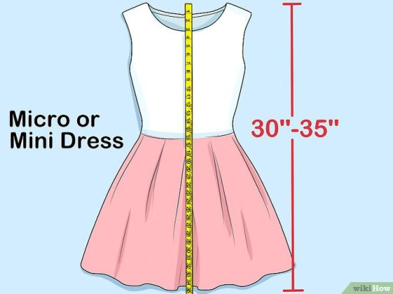 Immagine titolata Measure Dress Length Step 5