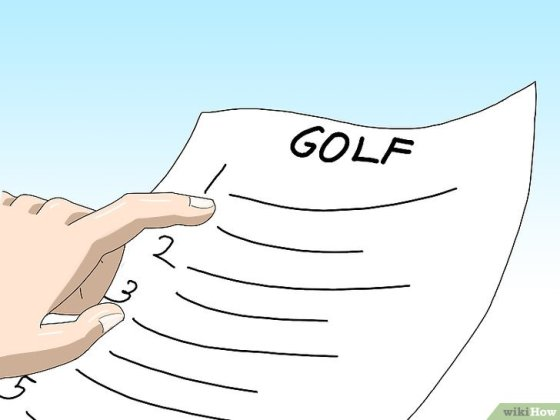 Immagine titolata Learn to Play Golf Step 3