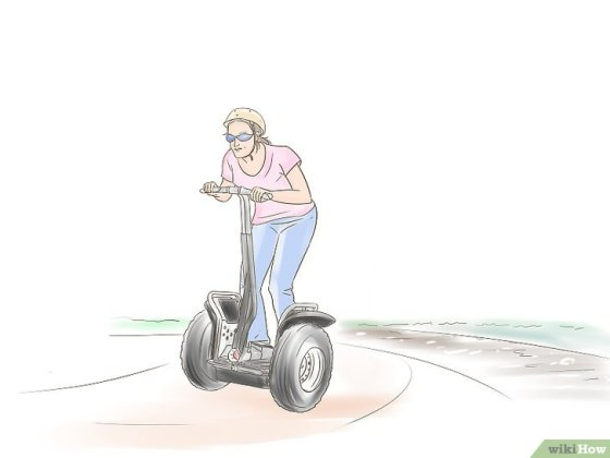 Immagine titolata Ride a Segway Safely Step 9