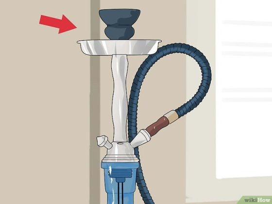 Immagine titolata Set Up a Hookah Step 7