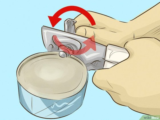 Immagine titolata Use a Can Opener Step 3