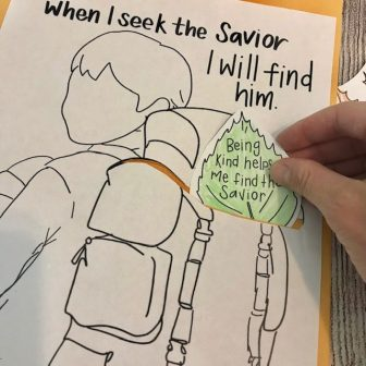 seek the Savior primary lesson