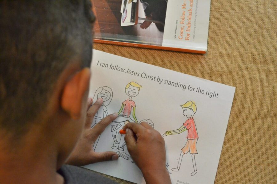choose the right coloring page, bully coloring page