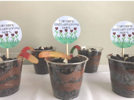 24 Book of Mormon Treats your Family will Love featured by Come Follow Me FHE: faith pudding cups