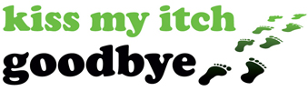 Logo for Kiss My Itch Goodbye