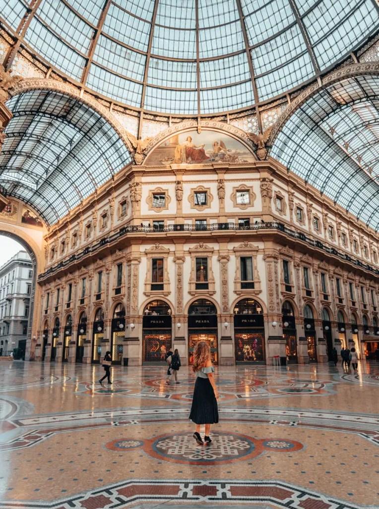 GalleriaVittorio Emmanuele II -One perfect day in Milan