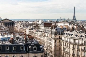 Eiffel Tower Galeries Lafayette